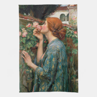 Waterhouse The Soul of the Rose Kitchen Towel