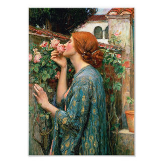 Waterhouse The Soul of the Rose Print