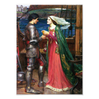Waterhouse Tristan and Isolde Print Photo