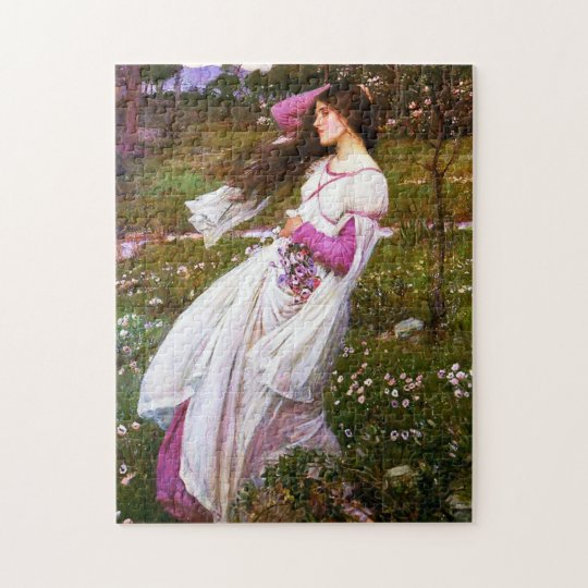 Waterhouse Windflowers Puzzle