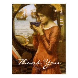 Waterhouse's Destiny Postcard