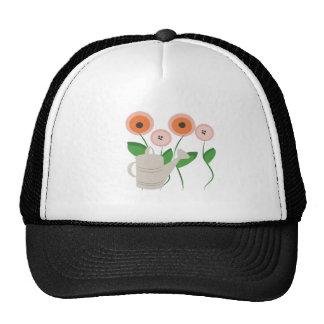 Watering Flowers Mesh Hat