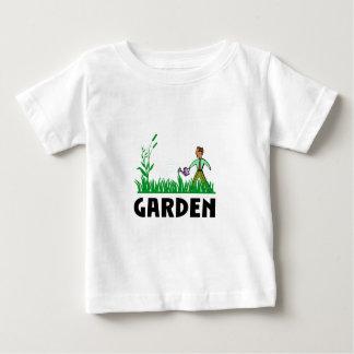 watering the garden baby T-Shirt