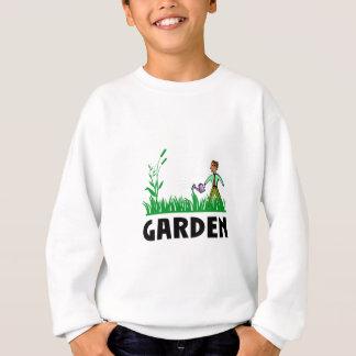 watering the garden sweatshirt