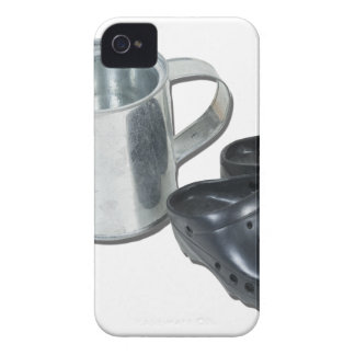 WateringCanGardeningShoes090312.png iPhone 4 Case-Mate Case