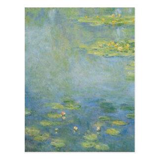 Waterlilies by Claude Monet Postcard