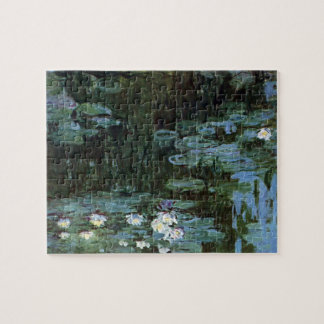 Waterlilies by Claude Monet, Vintage Fine Art Jigsaw Puzzle