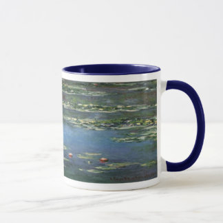 Waterlilies by Claude Monet, Vintage Flowers Mug