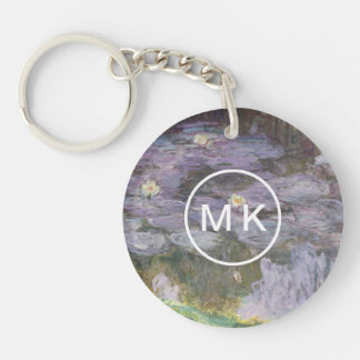 Waterlilies Key Ring