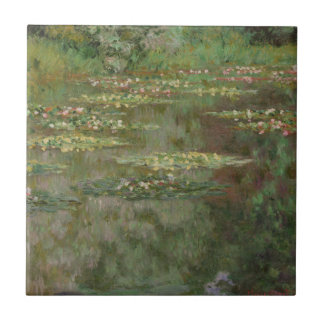 Waterlilies or The Water Lily Pond Nympheas Ceramic Tile
