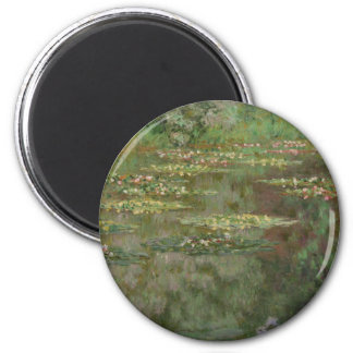 Waterlilies or The Water Lily Pond Nympheas Magnet
