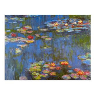 Waterlillies by Claude Monet Postcard