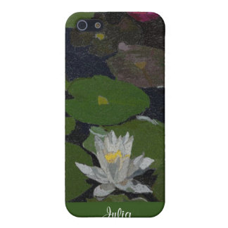 Waterlily and Lily Pads. Case For iPhone 5/5S