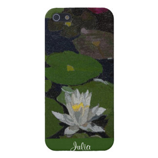 Waterlily and Lily Pads. iPhone 5 Cover