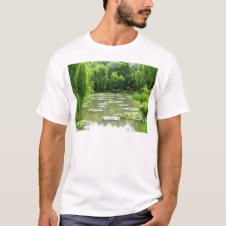 Waterlily Garden by Monet T-Shirt