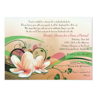 Waterlily Invitation