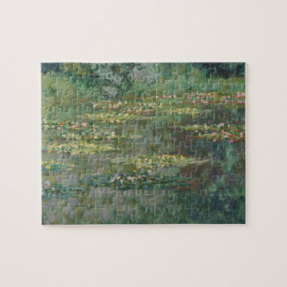 Waterlily Pond by Claude Monet, Vintage Fine Art Jigsaw Puzzle