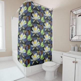 Waterlily Shower Curtain