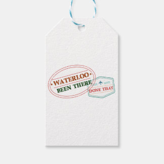 Waterloo Been there done that Gift Tags