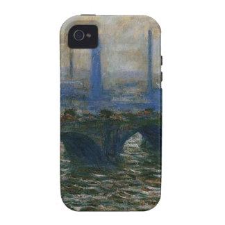 Waterloo Bridge by Claude Monet iPhone 4 Covers