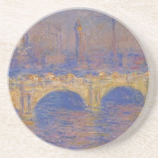 Waterloo Bridge, Sunlight Effect by Claude Monet Coaster