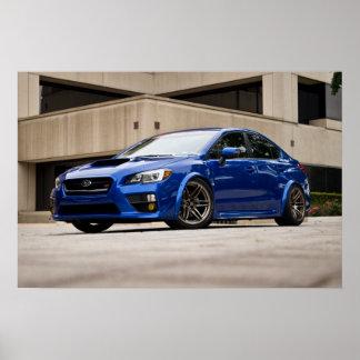Watermark-free poster - 2015 Subaru STI
