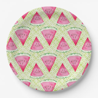 Watermelon 9 Inch Paper Plate