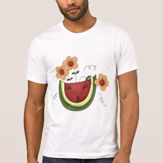 Watermelon and Daisies Mens T-Shirt