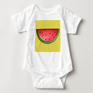 Watermelon and Polks Dots Baby Bodysuit
