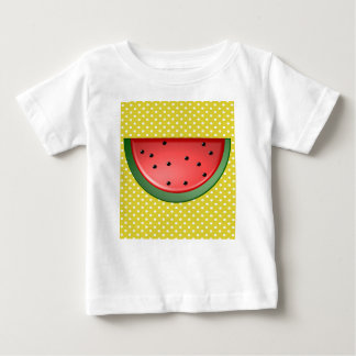 Watermelon and Polks Dots Baby T-Shirt
