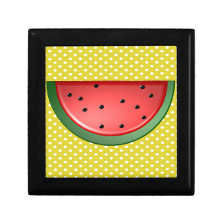Watermelon and Polks Dots Gift Box