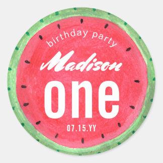 Watermelon | Birthday Party | Sticker