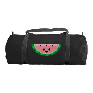 Watermelon Black Duffle Gym Bag Gym Duffel Bag