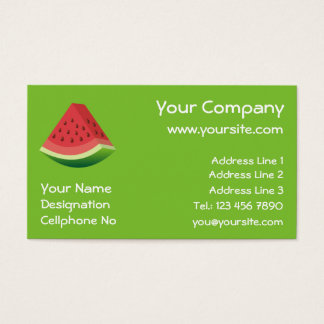 Watermelon Business Card