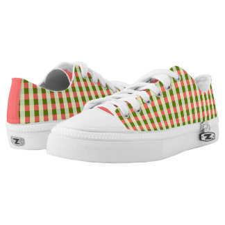 Watermelon Check Classic low top shoes pink