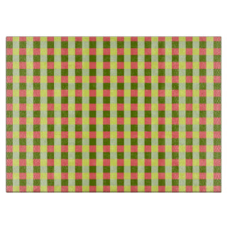 Watermelon Check cutting board