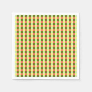 Watermelon Check napkins paper Disposable Serviettes