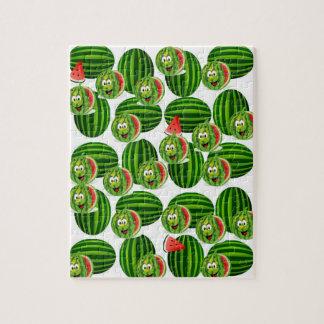 watermelon childrens jigsaw puzzle