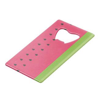Watermelon Credit Card Bottle Opener