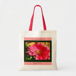 Watermelon Daisy Delight Tote Bag