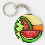 Watermelon Day August 3 Keychains