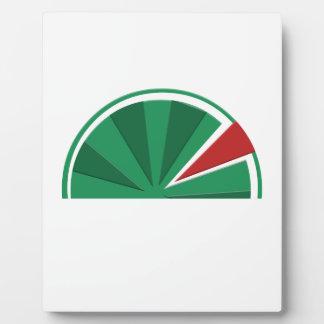 watermelon design plaque