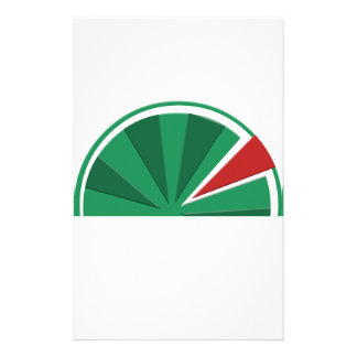 watermelon design stationery