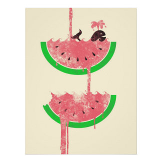 Watermelon Falls Posters