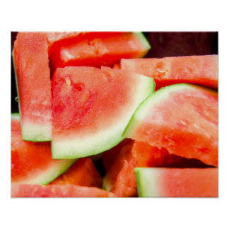 Watermelon Food Poster