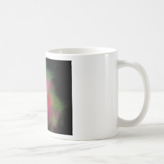 Watermelon fractal coffee mug