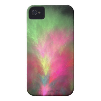 Watermelon fractal iPhone 4 covers