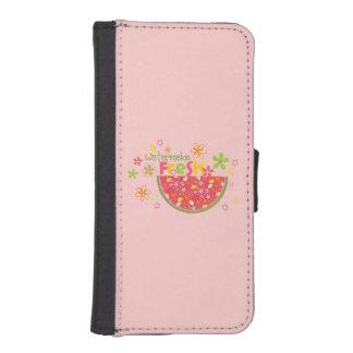 Watermelon Fresh Sweet Pink iPhone 5 Wallets