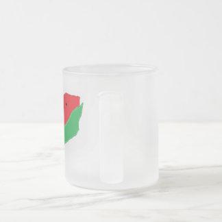 Watermelon Frosty Mug Frosted Glass Mug