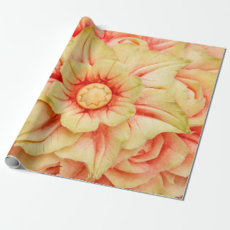 Watermelon fruit art wrapping paper